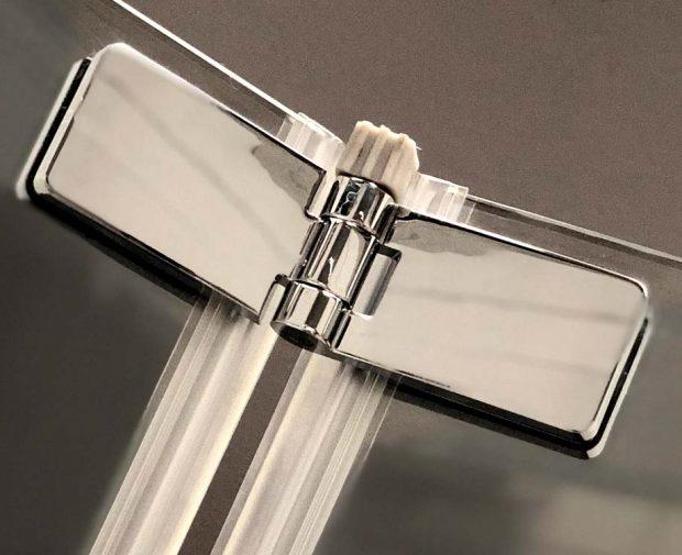 Premier 8 Bi Fold Door Chrome Shower Enclosure Coram Showers