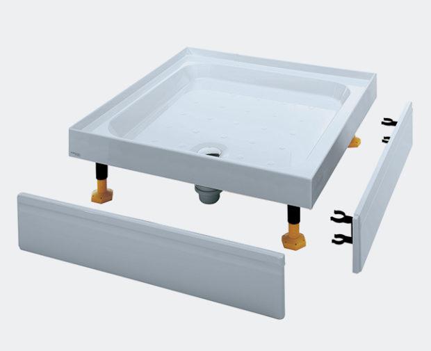 YD903WHI Riser Tray Universal Square